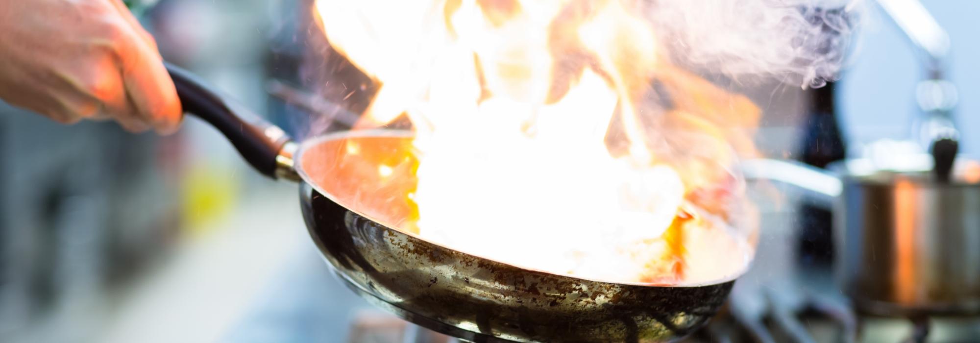 BEET | vuur heet pan beet gas lekker koken